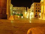 Malta La Valletta bei Nacht