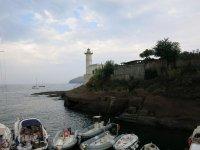 Kleine Bucht im Zentrum des Ortes Ventotene