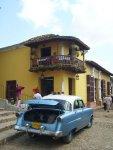 Straßenszene Trinidad de Cuba