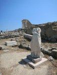 Delos - Serapeion und Isis Tempel