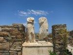 Delos - Statuen im hellenistischen Haus der Kleopatra