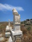 Delos - Phalloi des Dionysos