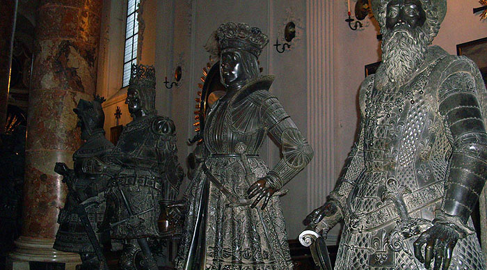 Schwarzmander - Chlodwig bis Rudolf von Habsburg